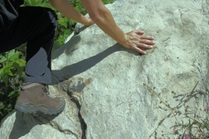 Vibram outsoles help navigate your footing