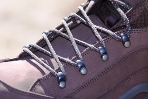 Derby Style lacing system lashes the Renegades nicely to your feet.