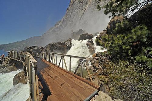 Wampa Falls Bridge At Hetch Hetchy Fresh Air Junkie