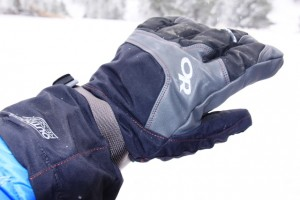 Outdoor Research Alti Glove outer shell.