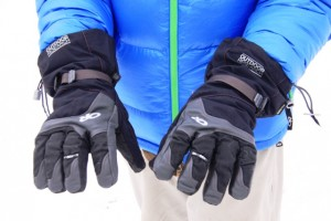 OR Alti Gloves are light weight and permit good gear handling dexterity.