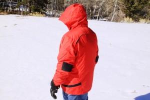 Rear view of COBRA Jacket. Size XL.