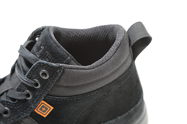 Canvas and suede uppers provide the tactical appearance that also looks good as casual wear